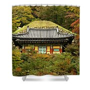 Seokguram Grotto Shower Curtain