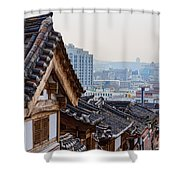 Seoul Korea Old And New Shower Curtain
