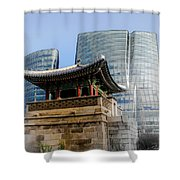 Seoul, Old And New Shower Curtain