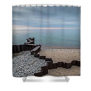 Separation And Division Shower Curtain