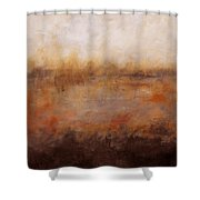 Sepia Wetlands Shower Curtain