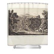 Sepolcro Di L. Cellio A Tivoli Shower Curtain