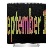 September 11 Shower Curtain