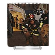 September 11th Rescue Workers Receive Shower Curtain