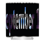 September 18 Shower Curtain