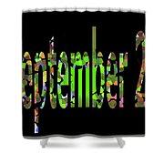 September 21 Shower Curtain