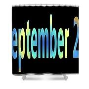 September 23 Shower Curtain