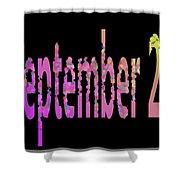 September 29 Shower Curtain