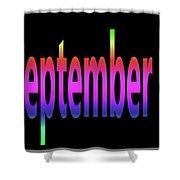 September 3 Shower Curtain