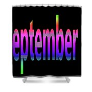 September 5 Shower Curtain