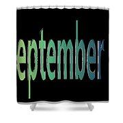 September 7 Shower Curtain