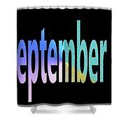 September 8 Shower Curtain
