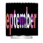 September 9 Shower Curtain