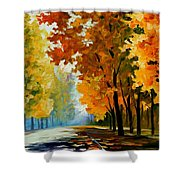 September Morning Shower Curtain