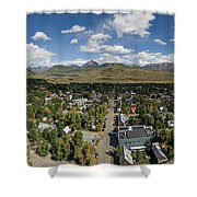 September Skies Over Crested Butte Shower Curtain