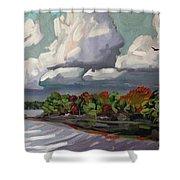 September Sky 2012 Shower Curtain