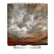 September Sky Shower Curtain