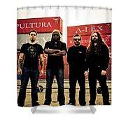 Sepultura Shower Curtain