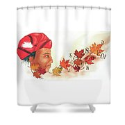 Seqouyahs Gift To The Cherokee Shower Curtain