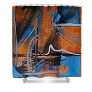 Sequence Of Events Shower Curtain