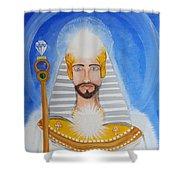 Serapis Bey Shower Curtain