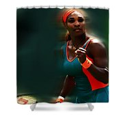 Serena Getting It Done Shower Curtain