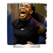 Serena Williams '16 Shower Curtain