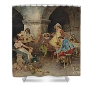 Serenade In The Tavern Shower Curtain
