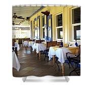 Serendipity Restaurant St Kitts Shower Curtain