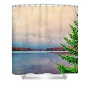Serene Lake Harmony Shower Curtain