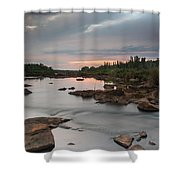 Serene Mornings Shower Curtain