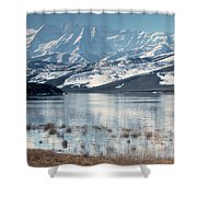 Serene Paddling Shower Curtain