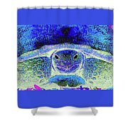 Serene Susie Shower Curtain
