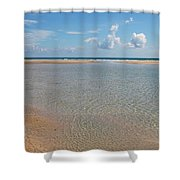 Serene Tidal Pool By The Sea Shower Curtain