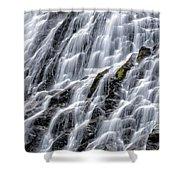 Serene Waterfall Shower Curtain