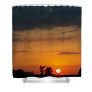 Serengeti Sunset Shower Curtain