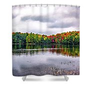 Serenity 3 Shower Curtain