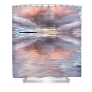 Serenity And Peace Shower Curtain