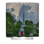 Serenity And Turmoil Shower Curtain
