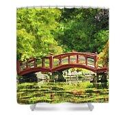 Serenity Bridge II Shower Curtain