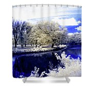 Serenity Bridge Shower Curtain