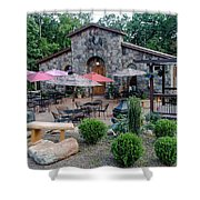 Serenity Cellars Winery Shower Curtain