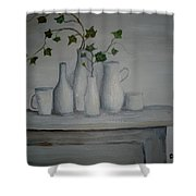 Serenity Shower Curtain by Glenda Barrett