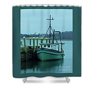 Serenity In Bristol Rhode Island Shower Curtain