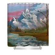Serenity In Pastel Shower Curtain