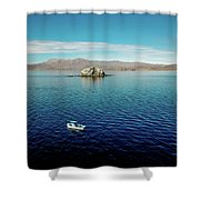 Serenity In The Sea Of Cortez  Shower Curtain