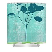 Serenity Shower Curtain by Linda Woods