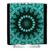 Serenity Mandala Shower Curtain