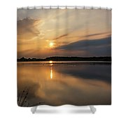 Serenity Shower Curtain by Nick Bywater
