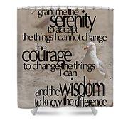 Serenity Prayer 01 Shower Curtain